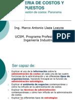 Sesion 2 Gestion de Costos Aspectos Generales 2014 (1)