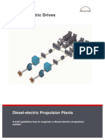 Diesel Electric Propulsion Plants Engineering Guideline