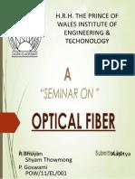 Seminar Report on Fiber Optics