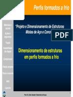 Dimensionamento de Perfis Formados a Frio 2013