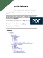HTML. Manual de Referencia