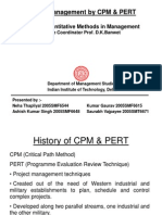 Project Management by CPM & PERT