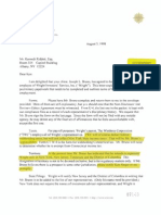 Wright Part-Time Agreement 1998 (GC-18)