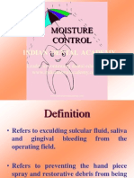 Moisture Control / orthodontic courses by Indian dental academy