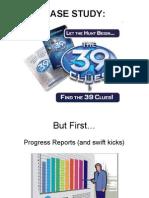 Case Study 39 Clues