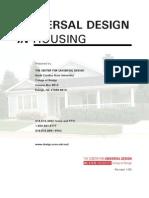 Universal Design in Housing