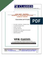 Ugc Net_genral Paper 1_free Sample Theory_english Version