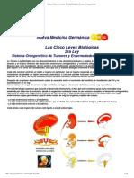 Nueva Medicina Hamer 3ra Ley Biologica Sistema Ontogenetico Imp