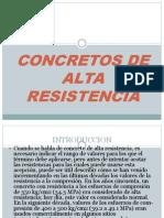 Concretos de Alta Resistencia Expo Concreto