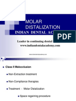 Molar Distalization / orthodontic courses by Indian dental academy