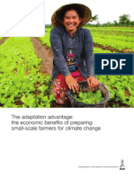 Economic Benefits of Preparing Small Farmers for Climate Change