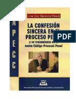 La Confesion Sincera en El Proceso Penal