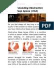 Understanding Obstructive Sleep Apnea (OSA)