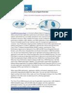 Cisco Performance Agent Overview