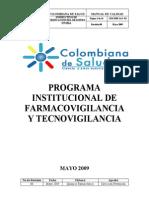 Programa de Farmacovigilancia y Tecnovigilacia (1)