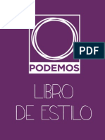 Libro de Estilo Podemos