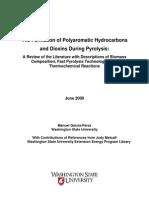 theformationofpolyaromatichydrocarbonsanddioxinsduringpyrolysis