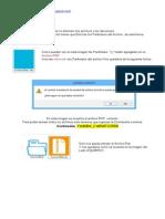 Instrucciones Para Extraer Los Archivos