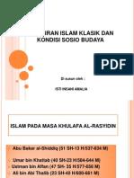 Pemikiran Islam Klasik Dan Kondisi Sosio Budaya