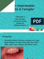 Askep Stomatitis Dan Faringitis
