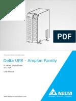 Delta UPS - Amplon Family  N Series, Single Phase 6/12 kVA