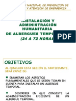c Instalacion y Admin is Trac Ion de Albergues