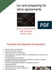 Kondang Indicative Agreement Acquisition