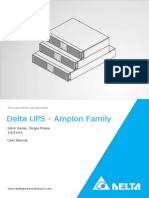 Delta UPS - Amplon Family  GAIA Series, Single Phase 1/2/3 kVA