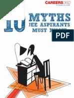 10 Myths JEE Aspirants Must Know