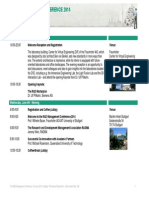 Preliminary Detailed Programme of the R&D Management Conference 2014 (May 2014)