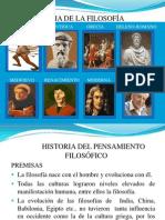 Historia de La Filosofía (1)