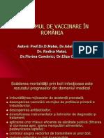 Noul Program Vaccinare in Rom