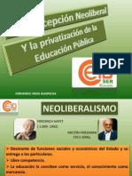 Concepción Neoliberal en La Educación-Consultivo