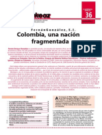 Colombia, Una Nación Fragmentada