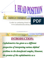 Natural Head Position / orthodontic courses by Indian dental academy