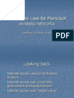 a business case for municipal wireless networks
