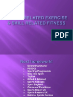 Health Related Exercise & Skill Related Fitness-2 Upload