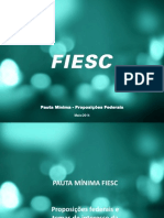 DOC 4 - PAUTA MINIMA PROPOSICOES FIESC