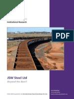 JSW Steel Equity Research Report
