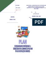 Plan de Organizare Si Desfasurare a Exercitiilor de Alarmare Si Evacuare