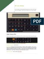 CalculadoraHP 12c Online