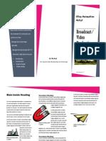 broadcast brochure