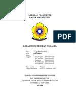 Laporan Praktikum III - Kapasitansi Seri Dan Paralel