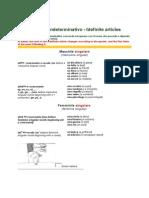 L'articolo indeterminativo - Idefinite articles + vježbe