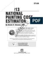 2013 National Painting Cost