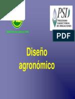 diseno agronomico