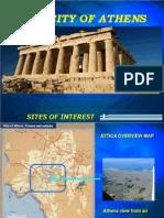 Η εκπόνηση πολιτιστικού χάρτη της Αθήνας με αφορμή την επίσκεψη σχολείων της Ευρώπης με το πρόγραμμα COMENIUS