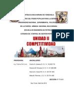 UNIDAD II Competitividad