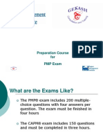 PMP Exam Preparation Course PPT