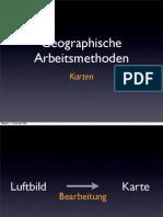 Geographische Arbeitsmethoden